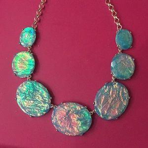 Jewelry - NEW beautiful aqua blue statement necklace
